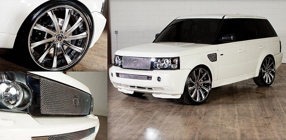2008 Range Rover Elite Rides spec